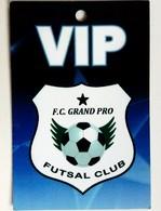 VIP FC Grand Pro, Fursal Club, Futsal Cup UEFA - Official Trading Card Champions League 2008-2009, Panini Italy - Singles (Simples)