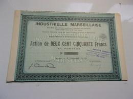 INDUSTRIELLE MARSEILLAISE (1932) - Non Classés