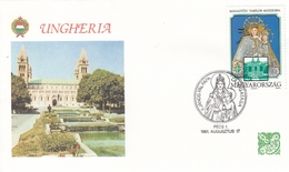 FDC HUNGARY 4144,popes (f) - FDC