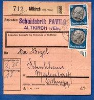 Colis Postal  /  Départ Altkirch / 12-6-43 - Cartas