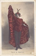 "FAUST ET MEPHISTO /  Aux ""FOLIES-BERGERE"" Cliché WALERY  -  Card _ Cartolina Postale - Artisti"