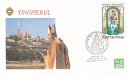 FDC HUNGARY 4146,popes (f) - FDC