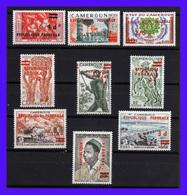 1961 - Camerun - Sc. 344 - 351a - MNH - CA-069 - Camerún (1960-...)