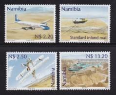 NAMIBIA,2001, Mint Stamps, Civil Aviation,sanr. 351-354, Scannumber 13475 - Namibië (1990- ...)