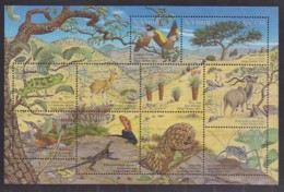 NAMIBIA,2001, Mint Stamps In Miniature Sheet, Central Highlands, Sanr. 376, Scannumber 13486 - Namibië (1990- ...)