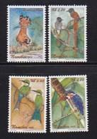 NAMIBIA, 2002, Mint Stamps  Birds Of Namibia, Scanr. Sa391-394, Scannumber 13491 - Namibië (1990- ...)