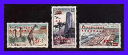 1961 - Camerun - Sc. C 38 - C 40 - MNH - CA-068 - Camerún (1960-...)