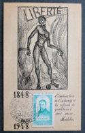 FRANCE - 1948 - ABOLITION DE L ESCLAVAGE - Cachets Commémoratifs