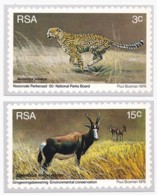 SOUTH AFRICA, 1976, Maxicards National Park Board,  F3799 (stamps On The Backsite) - Zuid-Afrika