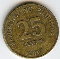 Philippines 25 Sentimos 2001 KM 271 - Philippines