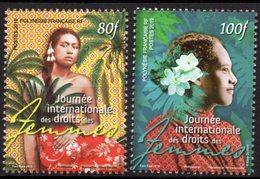 Polynésie Française 2019 - Journée Internationale Des Droits De La Femme - 2 Val Neufs // Mnh - Polynésie Française