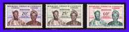 1962 - Camerun - Sc. 352 - 354 - MNH - Valor De Catalogo 70 € - Lujo - CA- 028 - Camerún (1960-...)
