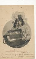 Joseph à Germaine. Pas D' Etrennes   Coll. ND . Envoi  Notaire Corvol L' Orgueilleux  Nievre 1904 - Enfants
