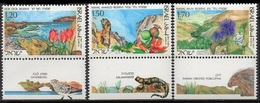 1993Israel1252-1254Nahal Ayun Reserve5,50 € - Israel