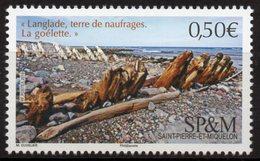 St Pierre & Miquelon 2019 - Langlade, Terre De Naufrages, La Goélette - 1 Val Neufs // Mnh - Unused Stamps