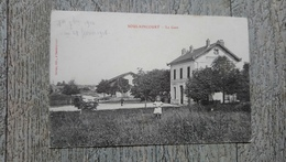 Soulaincourt  La Gare 1908 Rare - Autres Communes