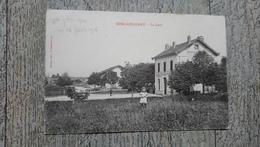 Soulaincourt  La Gare 1908 Rare - France