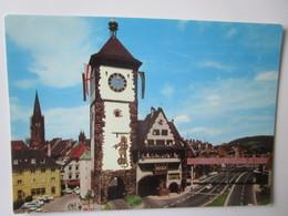 Freiburg Im Breisgau. Schwabentor Mit Schwabentorsteg - Freiburg I. Br.