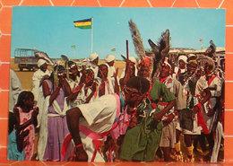 Sudan Folklore Sudanese Bandiera   CARTOLINA - Sudan