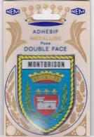 Montbrison Lot De  7 Cartes Dont Un Ecusson Adhesif - Montbrison