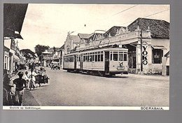 Netherlands Indies Tram GEMBLONGAN Soerabaja ± 1910 (16-52) - Indonesië