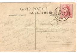 PR6381/ TP 168 S/CP Caillou Qui Bique C.Mons 27/8/1920+ Griffe Roisin-Autreppe V.Pâturage - Postmark Collection
