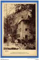 C183 Vaucluse Fontaine De Vaucluse La Maison Et Le Jardin De Pétrarque Rive Gauche De La Sorgue (non écrite) - France