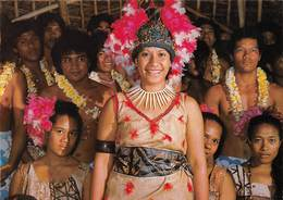Polynésie - American Samoa - Welcoming Party At Airport - Femme - Samoa