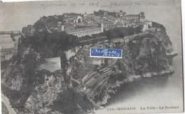 MONACO  LA VILLE LE ROCHER - Monaco