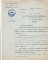 Algérie Lettre Illustrée 14/6/1939 OFALAC Office Algérien Action Economique Et Touristique Gouvernement Algérie ALGER - Factures & Documents Commerciaux