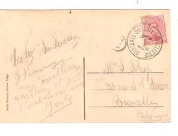 PR6383/ TP 138 S/CP Ostende La Malle Princesse Elisabeth C.Ambulant Oostende-BXL 2 5/10/1920 V.BXL - Postmark Collection
