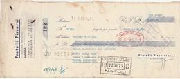 Cambiale Con Marca Da Bollo FRATELLI PIZZORINI Di Milano 1947 - Ferramenta - Cambiali