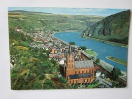 Oberwesel Am Rhein. Kruger 936/131 Postmarked 1971 - Oberwesel
