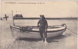 62 - LE PORTEL - Le Canot De Sauvetage - E.S.713 / 1924 - Le Portel