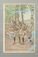 **LE  PISTAGE ( Traces)**------------illustrateur : J O B ---------------- - Scoutisme