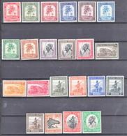 Ruanda Urundi Nr 126-147      Neuf - Postfris - MNH    (xx) - Ruanda-Urundi