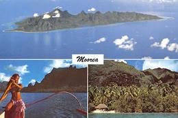 Polynésie Française - MOOREA - L'île-soeur De Tahiti - Pagayeuse - Photo Erwin Christian - Timbres - Frans-Polynesië