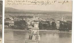 CPA, D.26, Andancette ,( Drôme) , Vue Générale - Le Pont , Ed. P. Phot. - Francia
