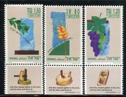 1993Israel1274-1276Flora / Olives3,60 € - Israel