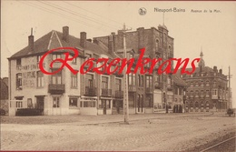 Nieuwpoort Nieuport Taverne Au Cornet D' Amour - Villa Regina - Hotel Cosmopolite - ZELDZAAM (In Zeer Goede Staat) - Nieuwpoort