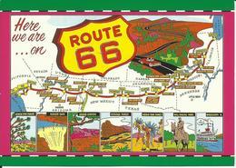 CARTE POSTALE - ÉTATS-UNIS - UNITED STATES - HISTORIC ROUTE 66 - Route '66'