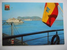 """CPSM """"Algeciras - Vista Del Puerto Y Penon"""" - Cádiz"""