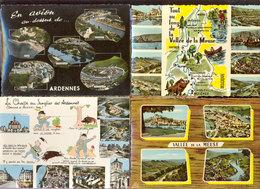 Lot 4 Cpm Ardennes - Autres Communes