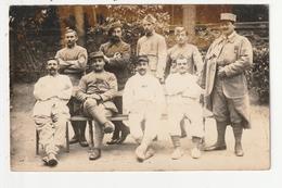 CARTE PHOTO - SAINT MALO - SOUVENIR DE L'HOPITAL NOTRE DAME DES GREVES - SOLDAT DU 152 ème BLESSE LE 14/10/1916 - 35 - Saint Malo