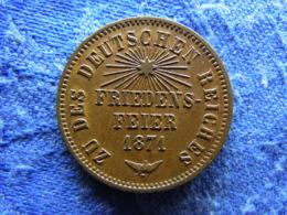 GERMANY BADEN 1 KREUZER 1871, KM252 - [ 1] …-1871 : Etats Allemands