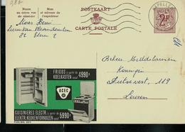 Publibel Obl. N° 2077 ( Frigos ACEC)  Obl. Kapellen - Entiers Postaux