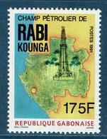 Gabon, Oil Field, Rabi Kounga, 175f., 1991,  MNH VF, Scarce Stamp - Gabon