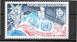 Gabon, 1982, Space,  UNO 1 Stamp - Space