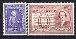 Ruanda Urundi Nr 200-201      Neufs - Postfris - MNH   (xx) - Ruanda-Urundi