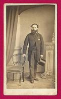 Photographie Ancienne - Cliché S. Eastham à Manchester - Portrait D'un Homme - Personas Anónimos